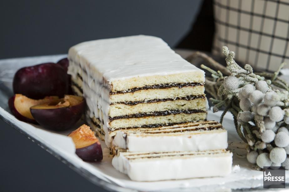 Un gâteau Vinarterta... (Photo Edouard Plante-Fréchette, La Presse)