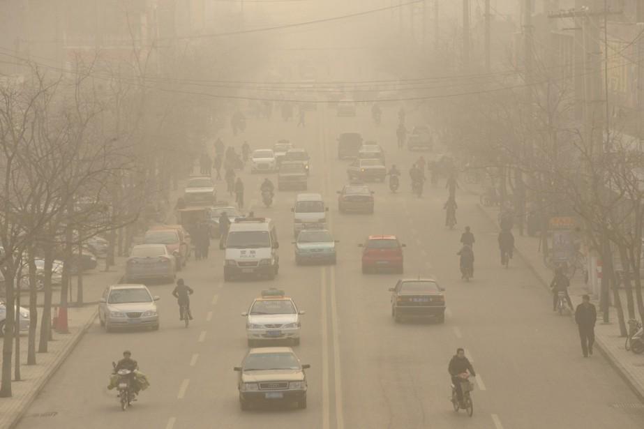 La Chine détient la clé de l'avenir climatique... (PHOTO: ARCHIVES AFP)