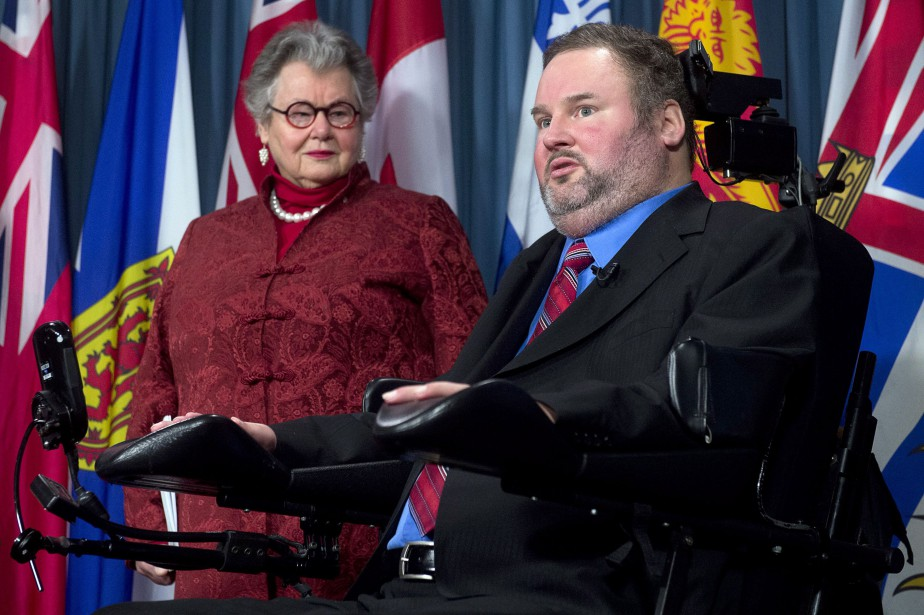 Nancy Ruth et Steven Fletcher... (PHOTO ADRIAN WYLD, LA PRESSE CANADIENNE)