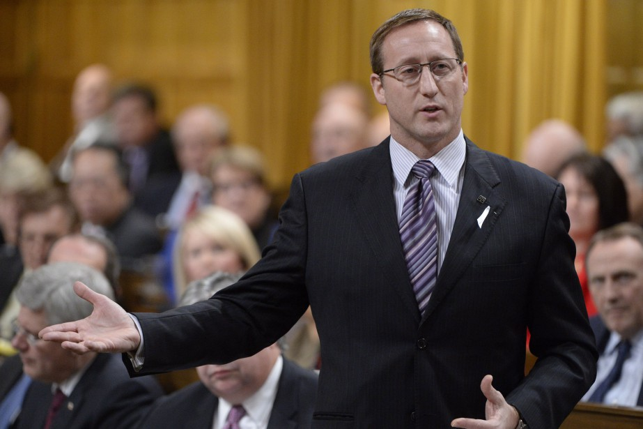 Le ministre de la Justice, Peter MacKay... (Photo Adrian Wyld, La Presse Canadienne)