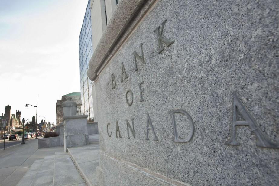 La Banque du Canada a indiqué mardi être... (PHOTO GEOFF ROBINS, ARCHIVES AFP)