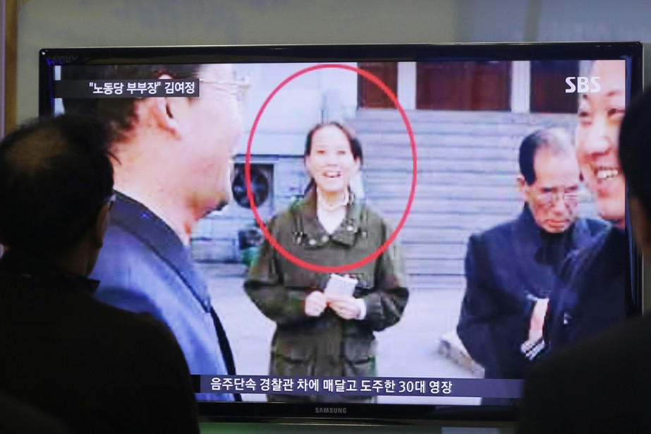 Kim Yo-jong serait âgée de 26 ans.... (PHOTO AHN YOUNG-JOON, ARCHIVES AP)