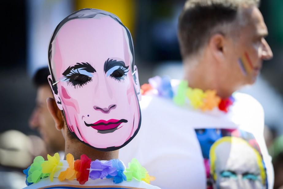 La Russie a adopté l'année dernière une loi... (PHOTO LAURIE DIEFFEMBACQ, ARCHIVES AFP/BELGA PHOTO)