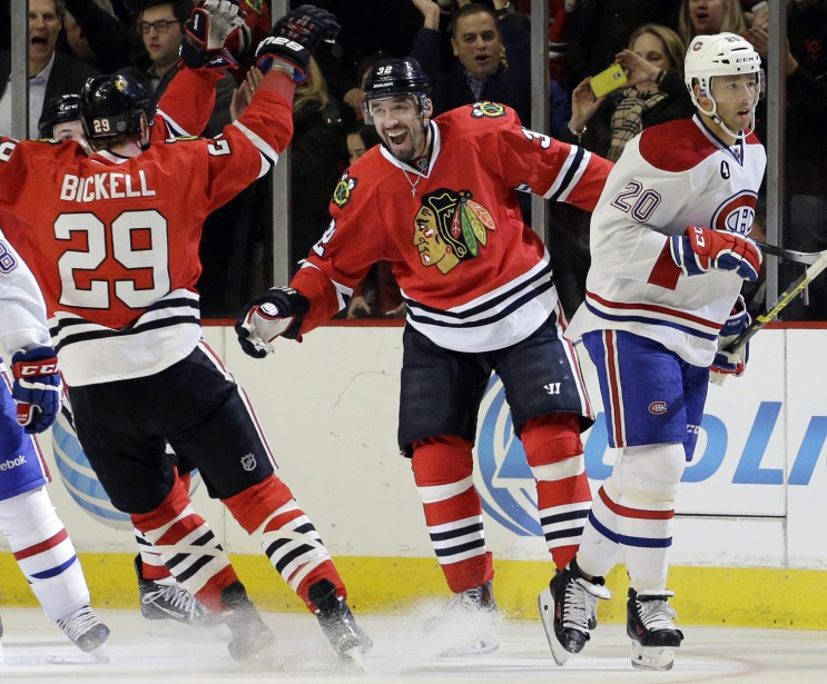 Les joueurs de Chicago ont été plus rapides, vendredi soir. (Photo AP)