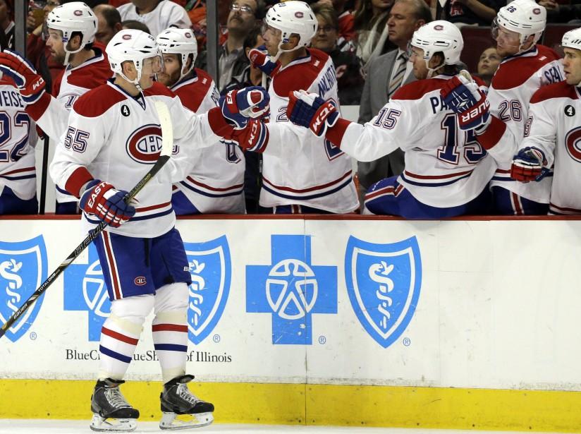 Le Canadien avait bien remonté la pente, mais lâché vers la fin. (Photo AP)
