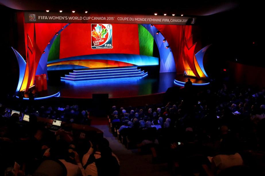 Le sort des différentes équipes nationales qui participeront à la prochaine Coupe du monde de soccer féminin a été décidé, samedi, au Musée canadien de l'histoire. (Patrick Woodbury, LeDroit)
