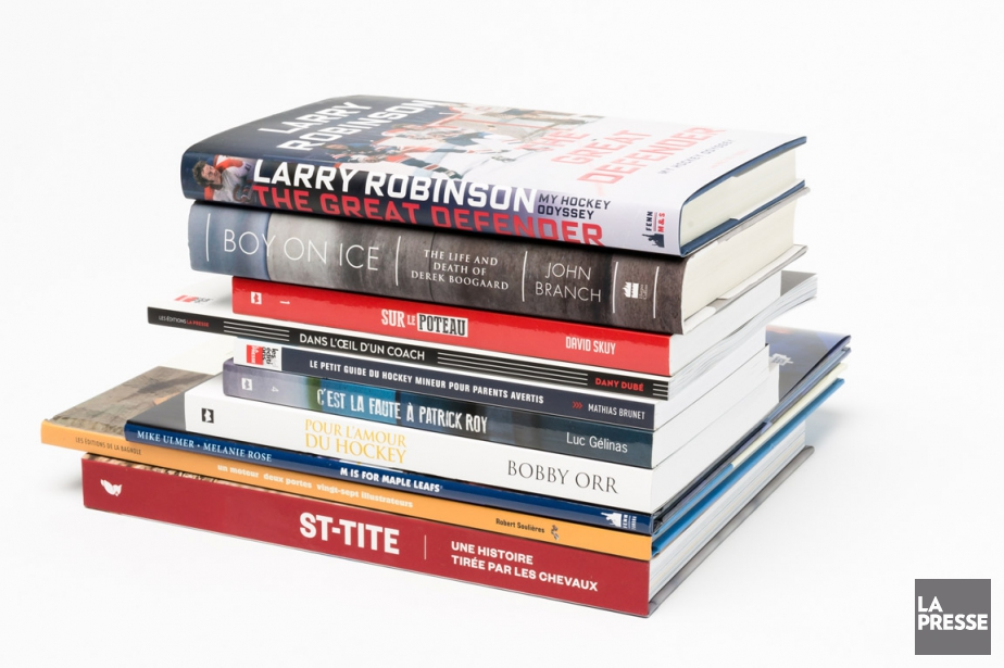 Montréal reste une ville de hockey et plusieurs livres... (PHOTO LA PRESSE)