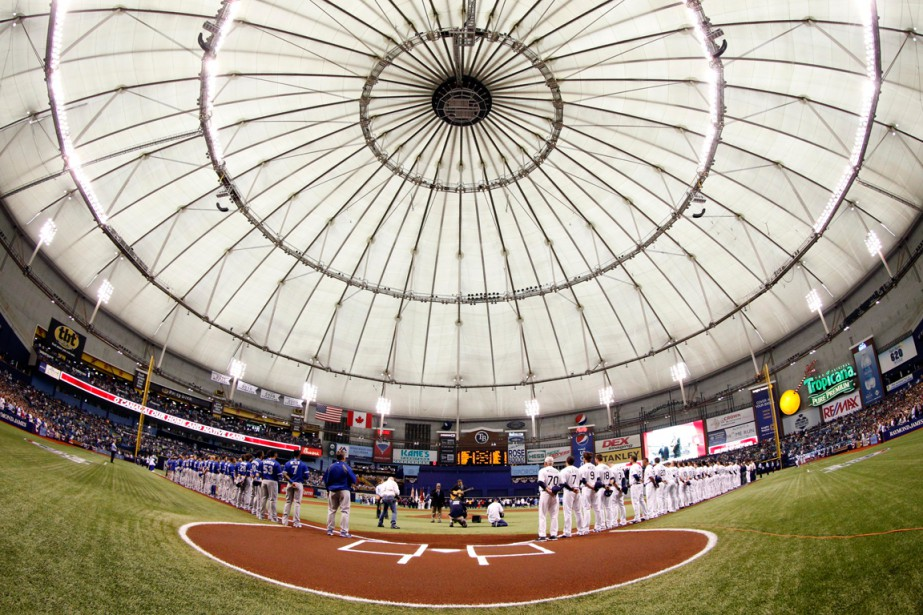 Les Rays de Tampa Bay jouent actuellement au... (Photo Kim Klement, archives USA Today Sports)