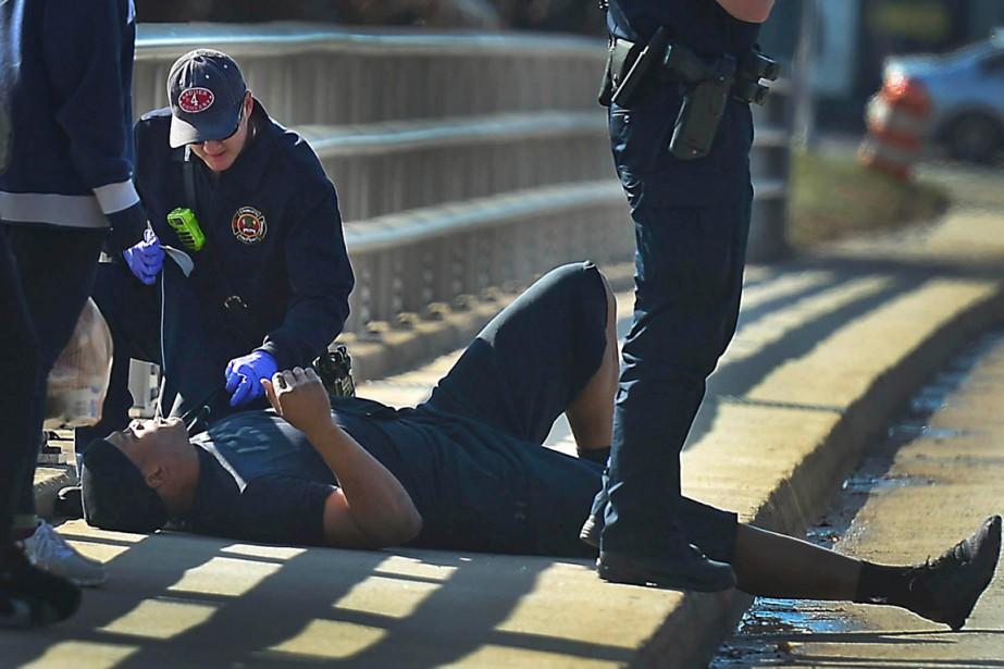 Le quart-arrière Cam Newton, des Panthers de la... (Photo Todd Sumlin, Reuters)
