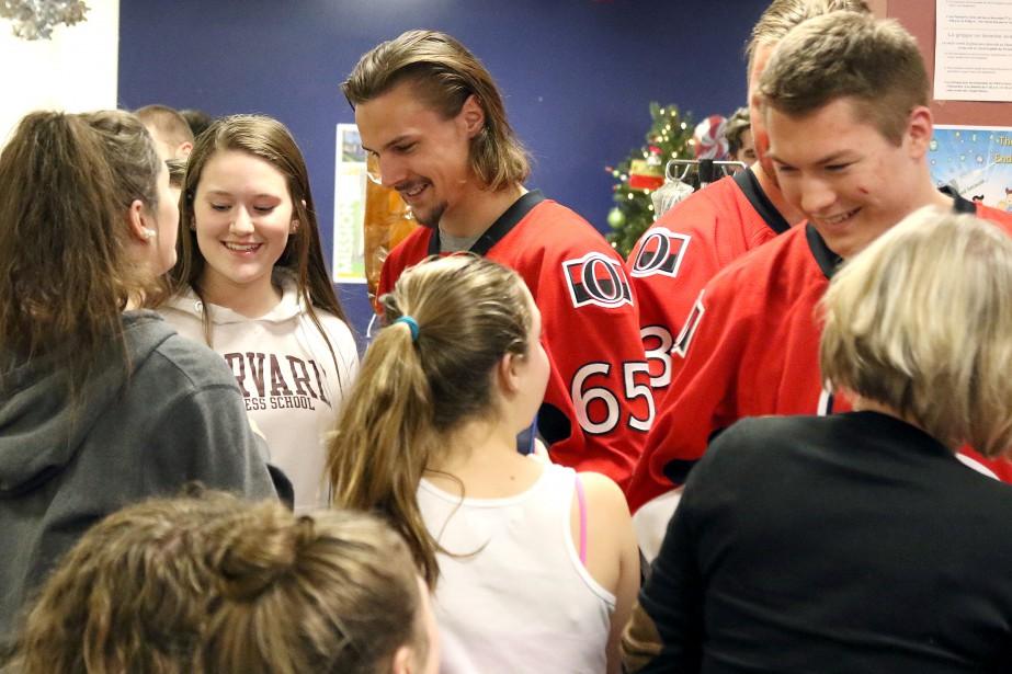 Le capitaine Karlsson a fait bien des heureuses. (PATRICK WOODBURY, LeDroit)