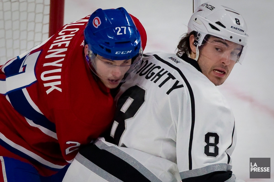 Alex Galchenyuk et Drew Doughty... (Photo André Pichette, archives La Presse)