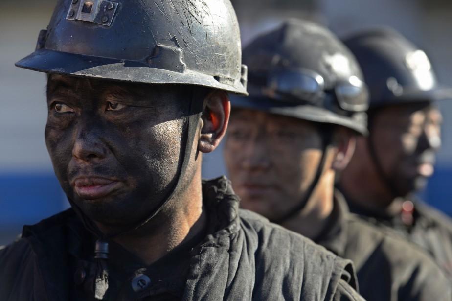 Le secteur minier en Chine est tristement célèbre... (Photo JON WOO, Archives Reuters)