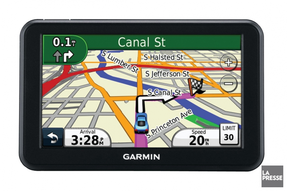 GPS Garmin Nuvi 40LM... (PHOTO LA PRESSE)