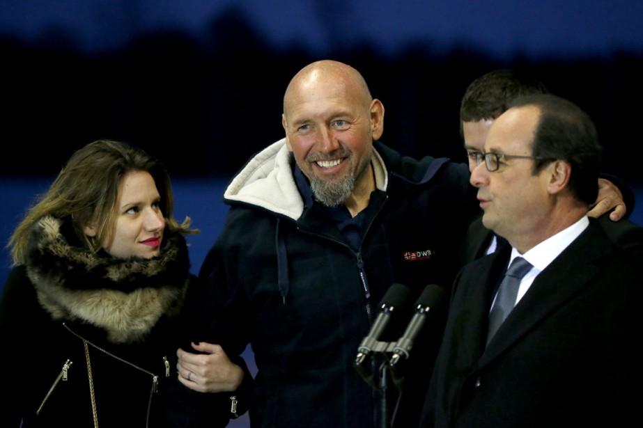 Dès la libération de Serge Lazarevic mardi, des... (PHOTO MICHEL EULER, AP)