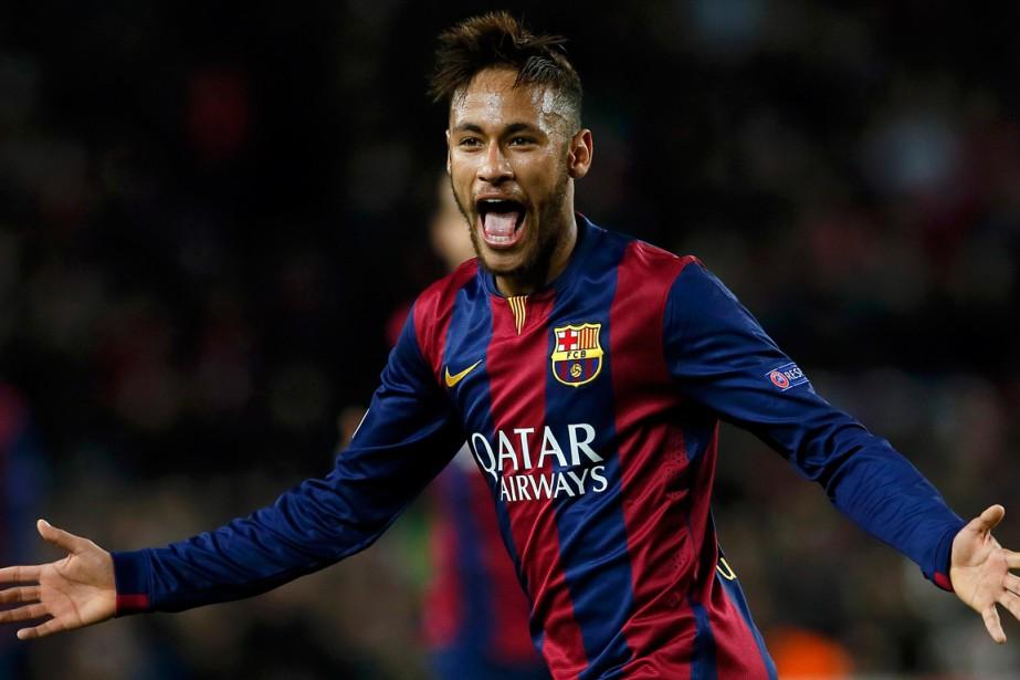 Neymar... (Photo Albert Gea, Reuters)