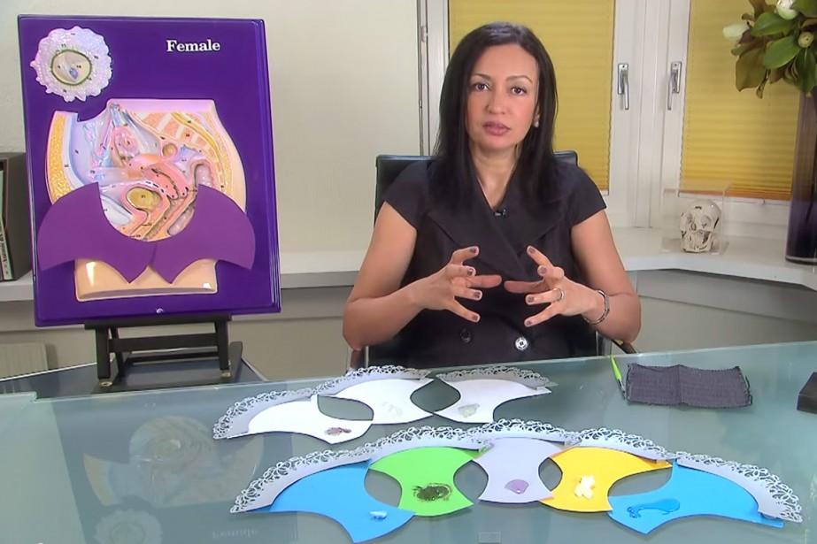 Par sa chaîne d'information YouTube, la docteureAlyaa Gad... (IMAGE TIRÉE D'UNE VIDÉO)
