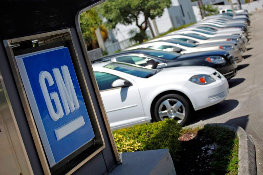 GM a vendu 6% de plus de véhicules... (Photo Carlos Barria, archives Reuters)