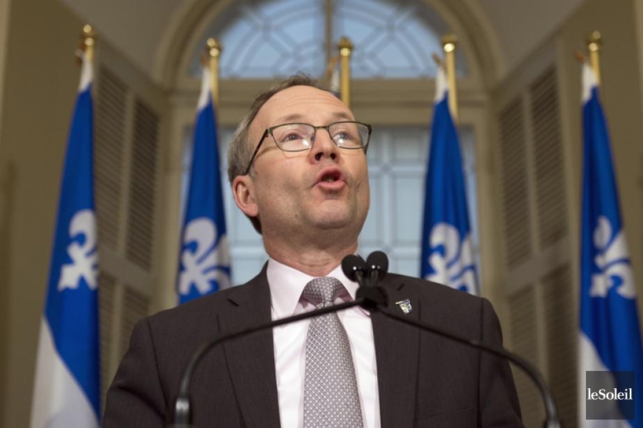 Martin Coiteux, président du Conseil du trésor.... (Photothèque Le Soleil)