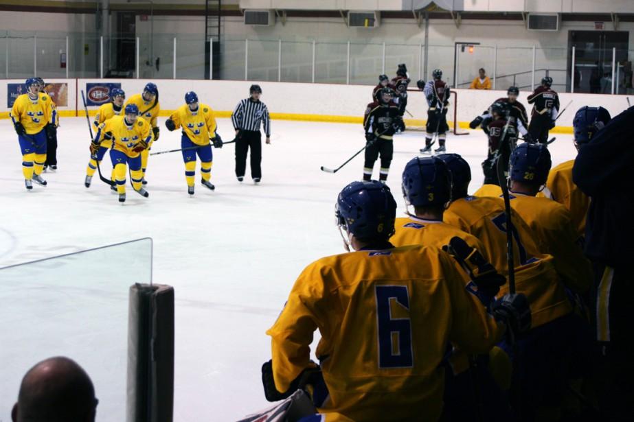 L'équipe nationale junior de la Suède dans un... (Photo fournie par Deanna Reesor)