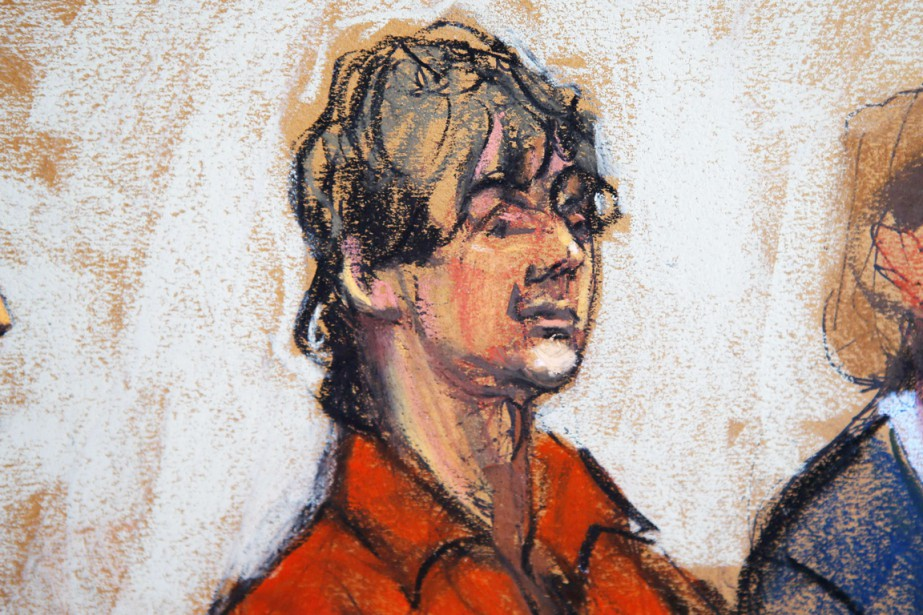 En juillet 2013, Dzhokhar Tsarnaev, qui risque la... (ILLUSTRATION JANE ROSENBERG, ARCHIVES REUTERS)