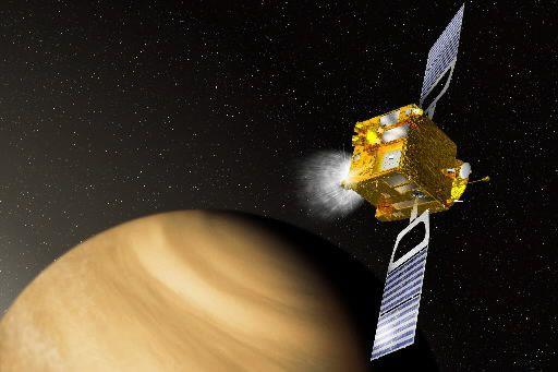Illustration de la sonde Venus Express transmise par... (PHOTO ARCHIVES AGENCE FRANCE-PRESSE)
