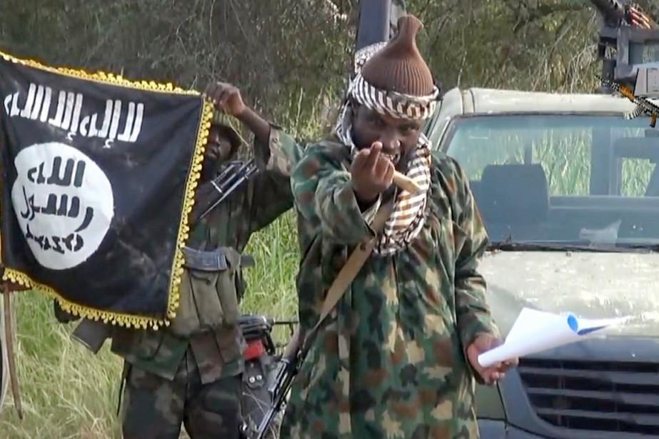 Boko Haram et son chef Abubakar Shekau (ci-dessus)ont... (IMAGE ARCHIVES AFP/BOKO HARAM)