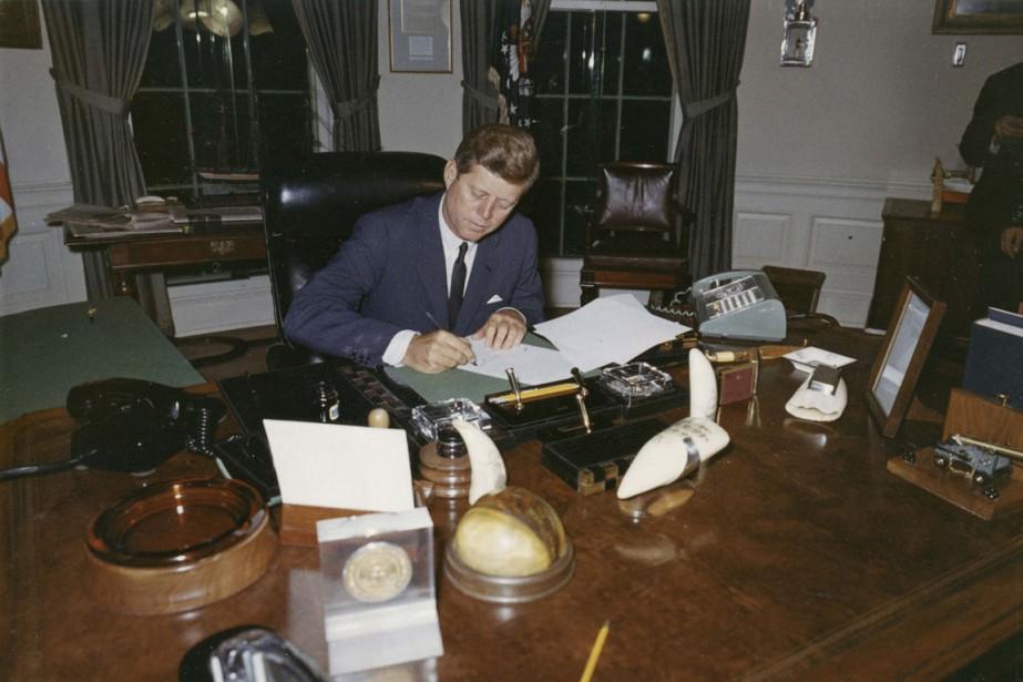 Le 23 octobre 1962, en pleine crise des... (PHOTO ARCHIVES REUTERS)