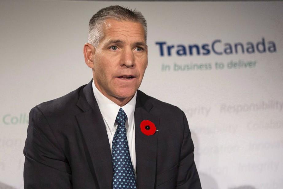 Le chef de la direction de TransCanada,Russ Girling.... (Photo Chris Young, Archives La Presse Canadienne)