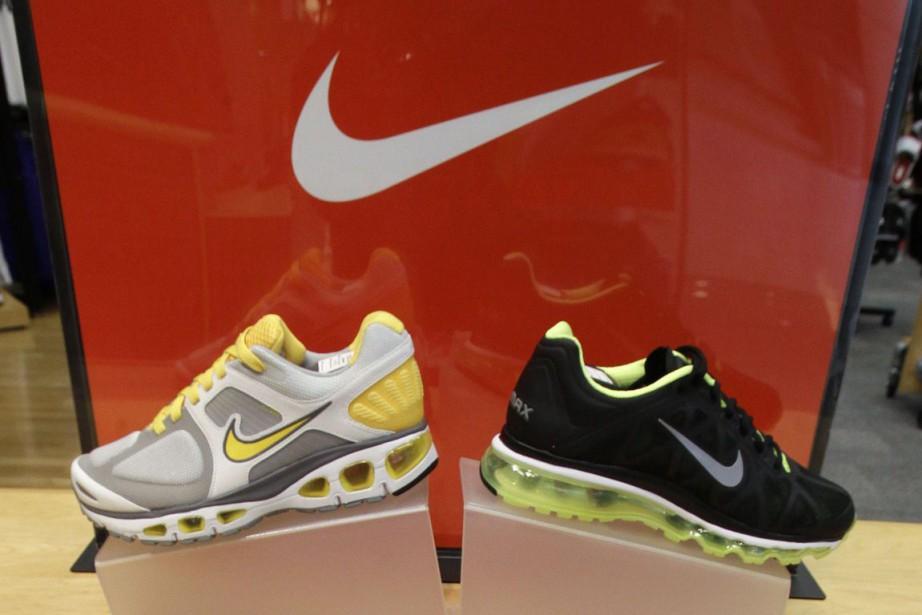 Le groupe américain d'articles de sports Nike a dépassé... (Photo Archives AP)