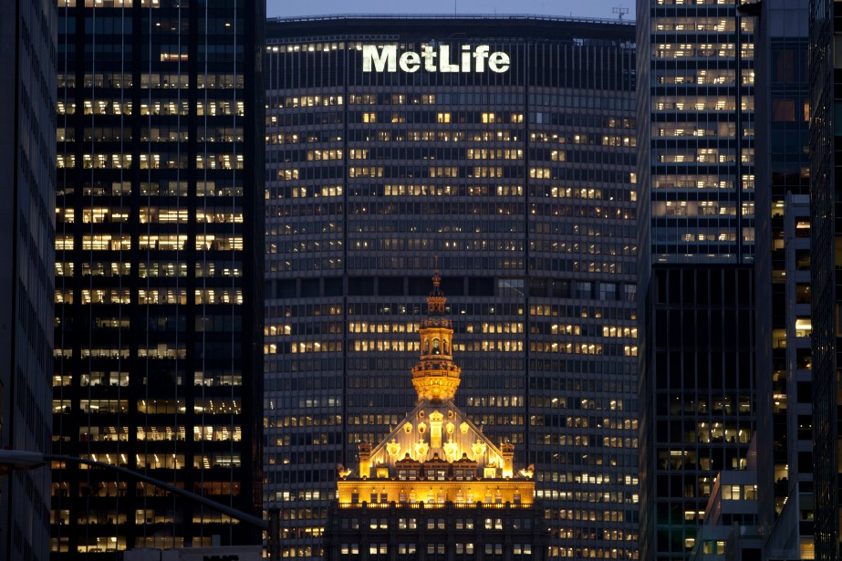 Le géant de l'assurance américain MetLife a été... (Photo Scott Eells, Bloomberg)