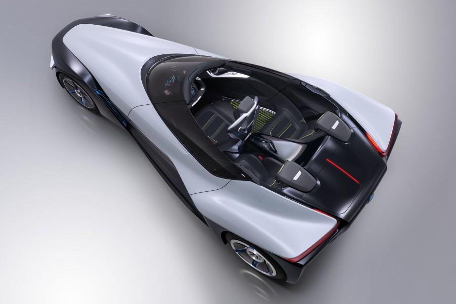Le concept Nissan BladeGlider offre un aperçu de... (Photo fournie par Nissan)