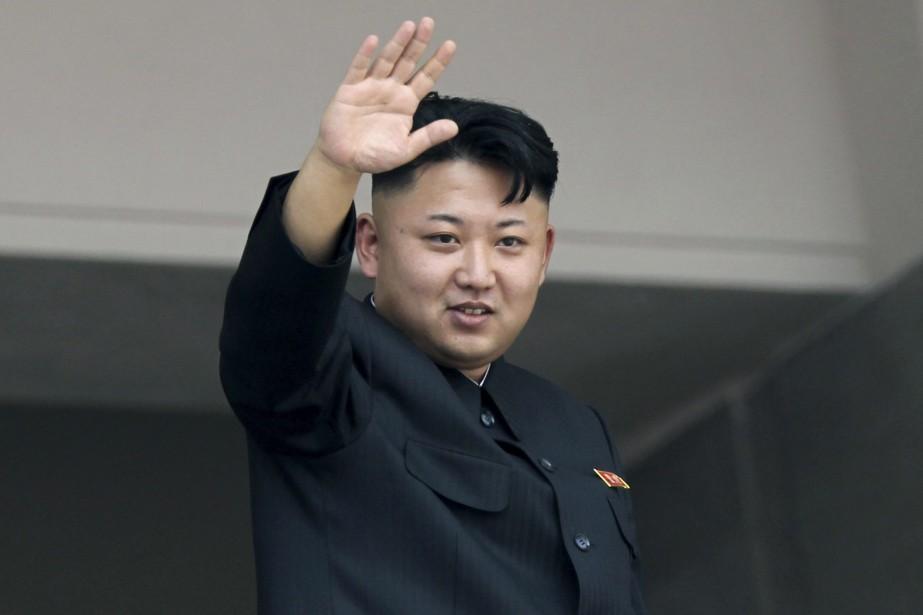 Le leader nord-coréen, Kim Jong-Un.... (Photo archives AP)