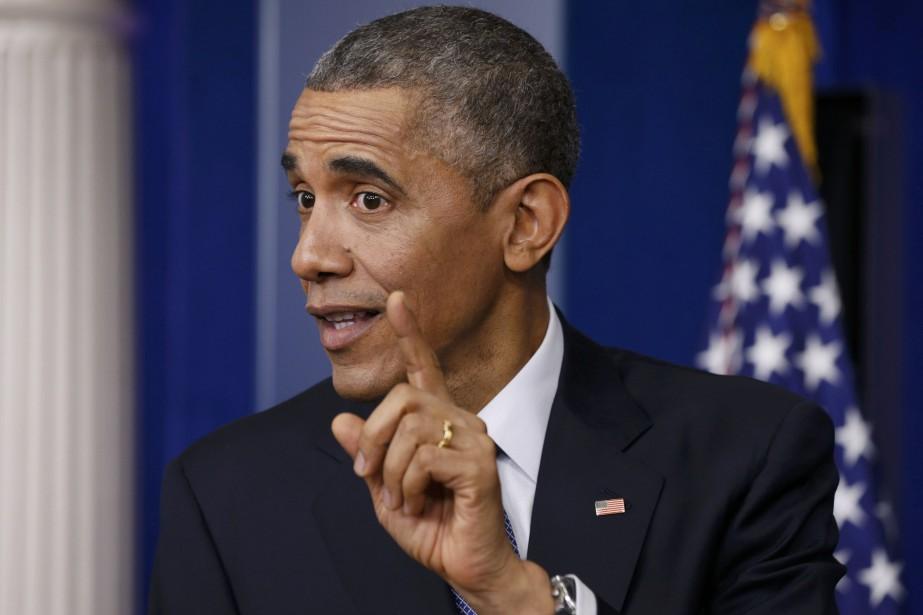 Le président américain Barack Obama... (Photo Kevin Lamarque, Reuters)