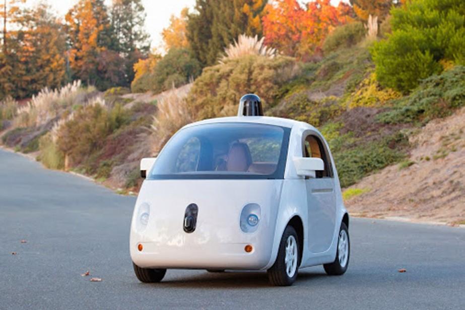 Lavoiture sans conducteur deGoogle.... (PHOTO FOURNIE PAR GOOGLE)
