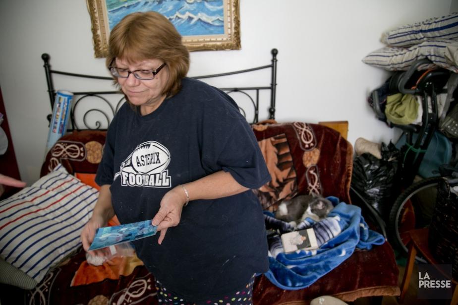 La grand-mère de Jeffrey Labelle, Sylvie Labelle, est... (PHOTO DAVID BOILY, LA PRESSE)
