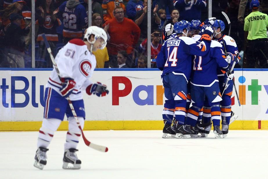 Le match avait mal commencé pour Montréal, qui a été, comme souvent, le premier à encaisser un but. (Photo USA Today Sports)