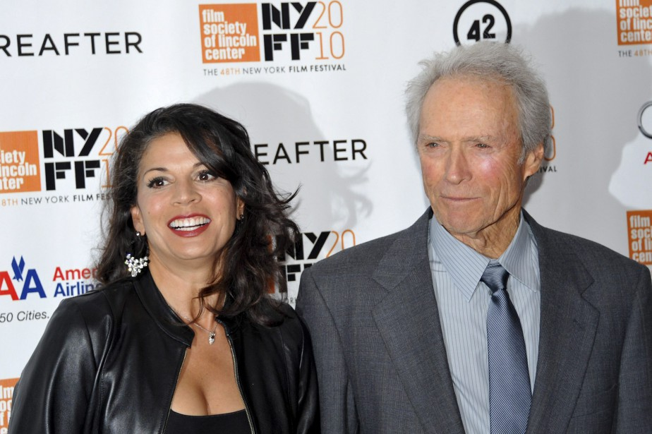 Clint et Dina Marie Eastwood ont eu une fille... (Photo Evan Agostini, AP)