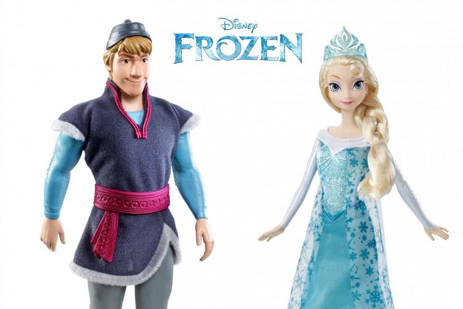 Frozen, Minecraft, Star Warset compagnie, Noël... (Photo fournie par Disney)