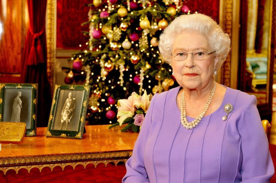 Le discours de Noël de la reine est... (Photo AFP)