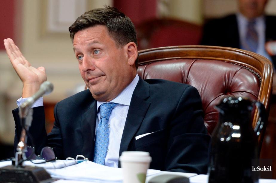Pierre Moreau, ministre des Affaires municipales... (Photothèque Le Soleil, Erick Labbé)
