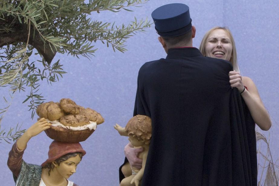 Originaire d'Ukraine, Iana Aleksandrovna Azhdanova avait été arrêtée... (PHOTO ASSOCIATED PRESS)
