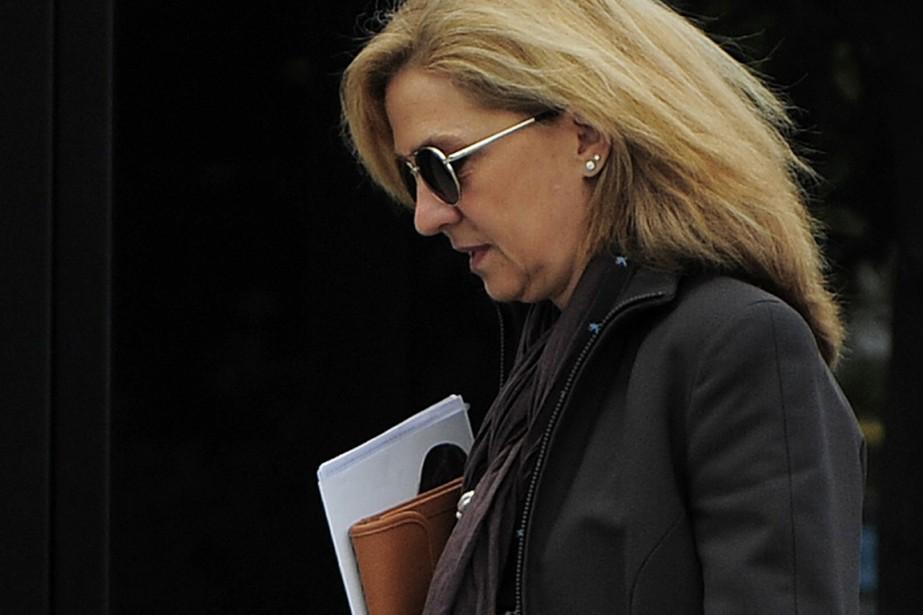 La princesse Cristina fait face à des accusations... (Photo Manu Fernandez, archives AP)