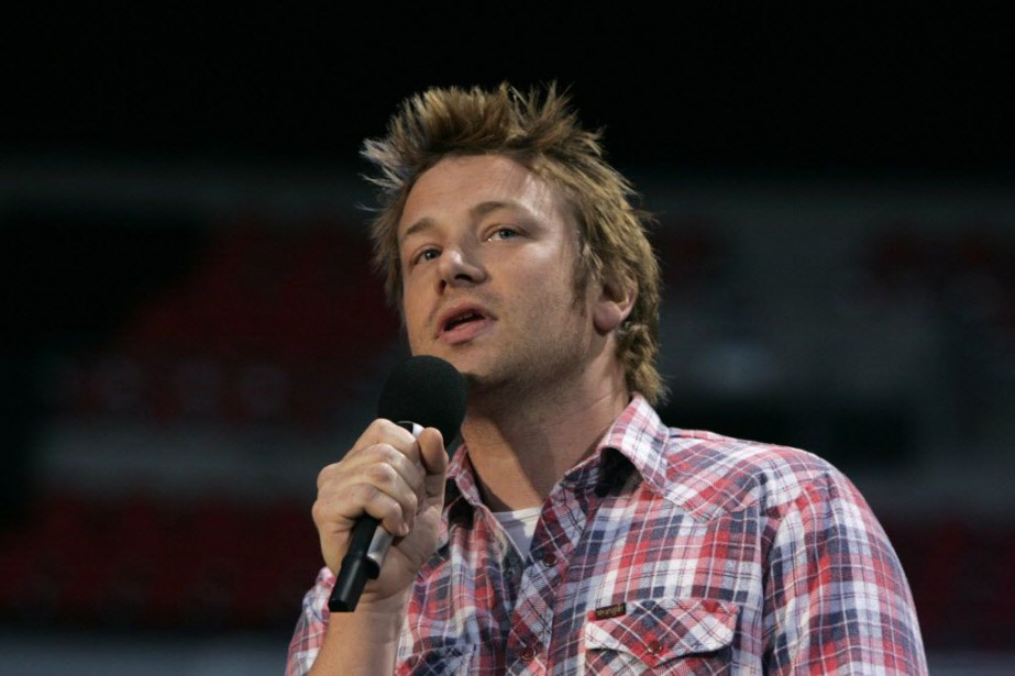Le chef cuisinier britannique, Jamie Oliver.... (PHOTO ARCHIVES REUTERS)