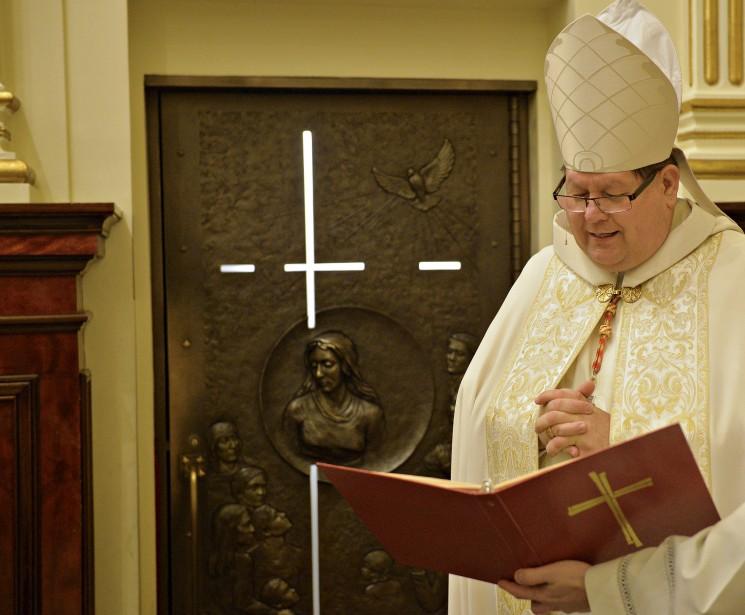 La porte sera ouverte de nouveau en 2025, année sainte pour toute l'Église catholique. (Le Soleil, Pascal Ratthé)