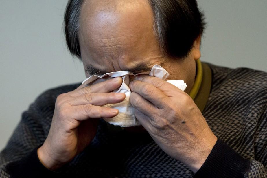 Lin Diran indique avoir tout perdu, tant au... (Photo Ryan Remiorz, PC)