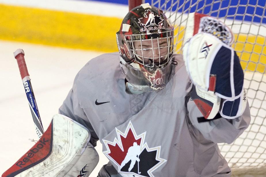 Eric Comriea été très bon dans le gain... (Photo Ryan Remiorz, La Presse Canadienne)