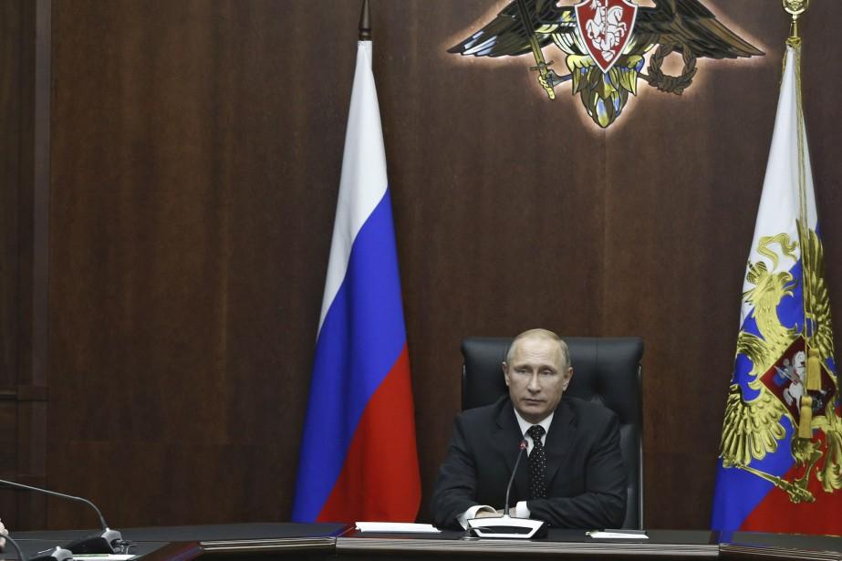 VladimirPoutine a souligné mercredi que l'année qui vient... (Photo Archives Reuters/Gouvernement russe)