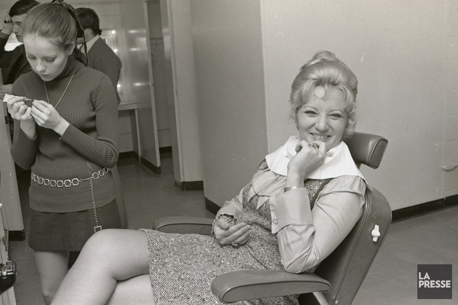 Suzanne Lapointe en 1970 (Photo Paul Henri Talbot, Archives La Presse)