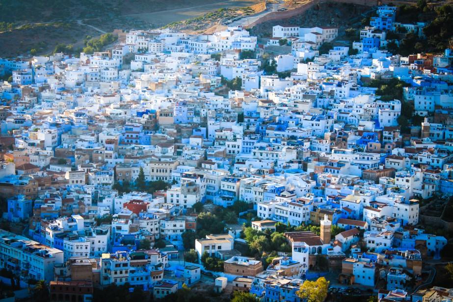 Empreinte de sérénité, Chefchaouen, la «ville bleue», est un havre de paix dans...