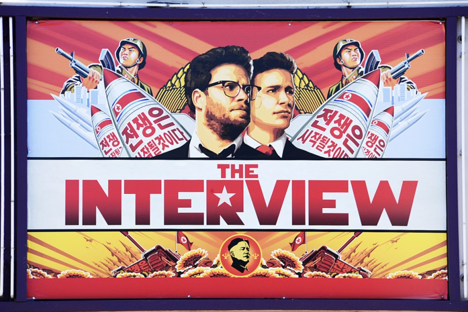 Pour le Nord-Coréen Kim Sung-min, The Interview n'a tout... (PHOTO ROBYN BECK, ARCHIVES AFP)